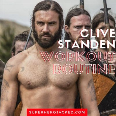 Clive Standen Workout