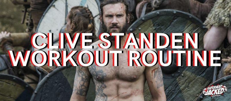 Clive Standen Workout Routine