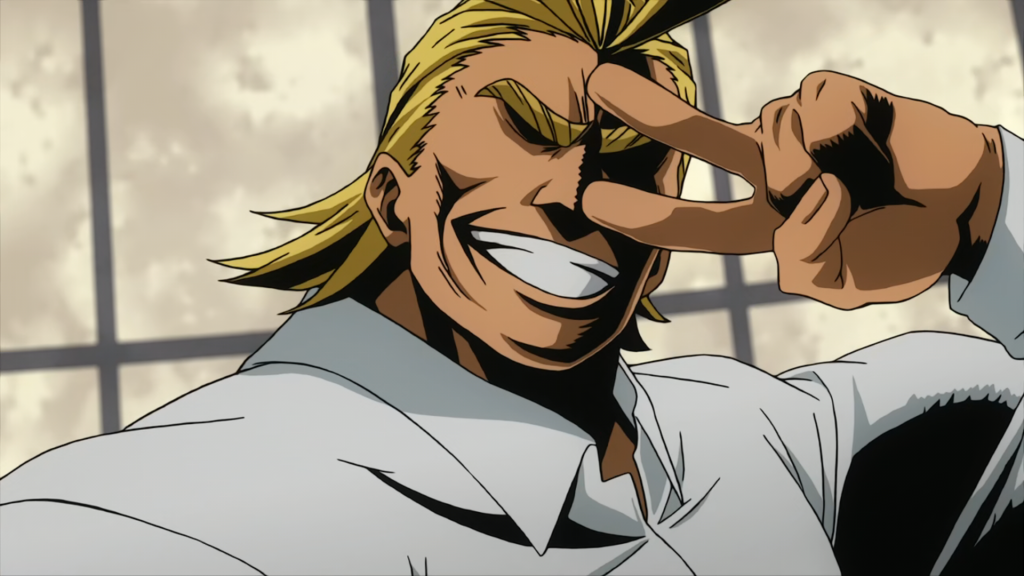All Might Workout 1