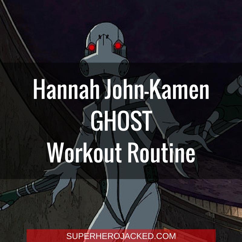 Hannah John-Kamen Ghost Workout