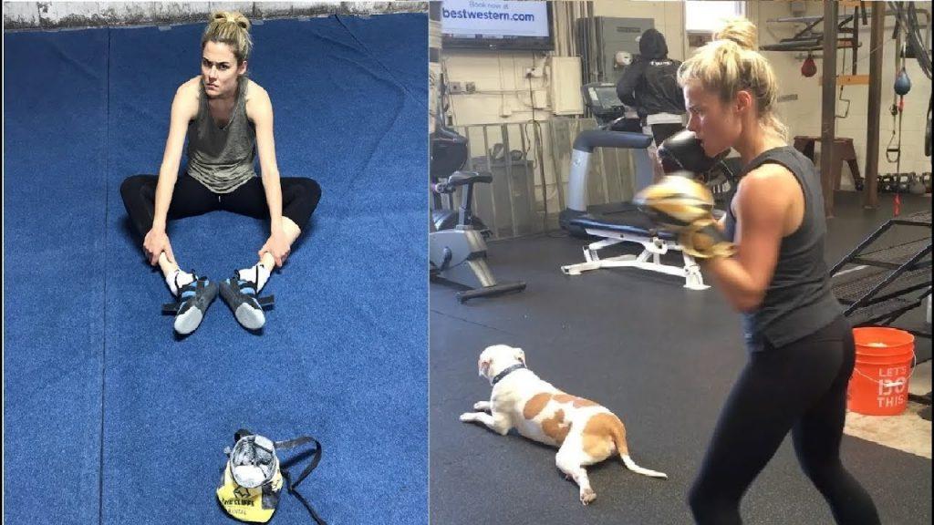 Rachael Taylor Workout 3