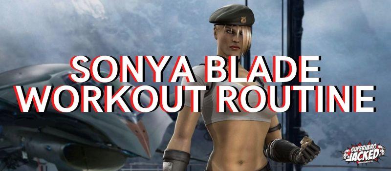 Sonya Blade Workout Routine