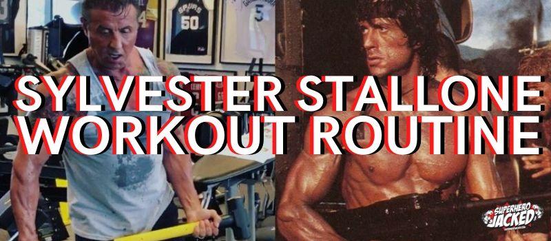 Sylvester Stallone Workout