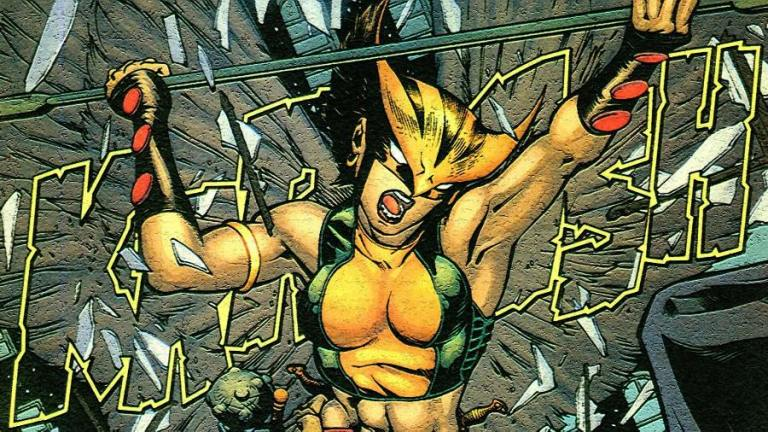 Hawkgirl Workout 1