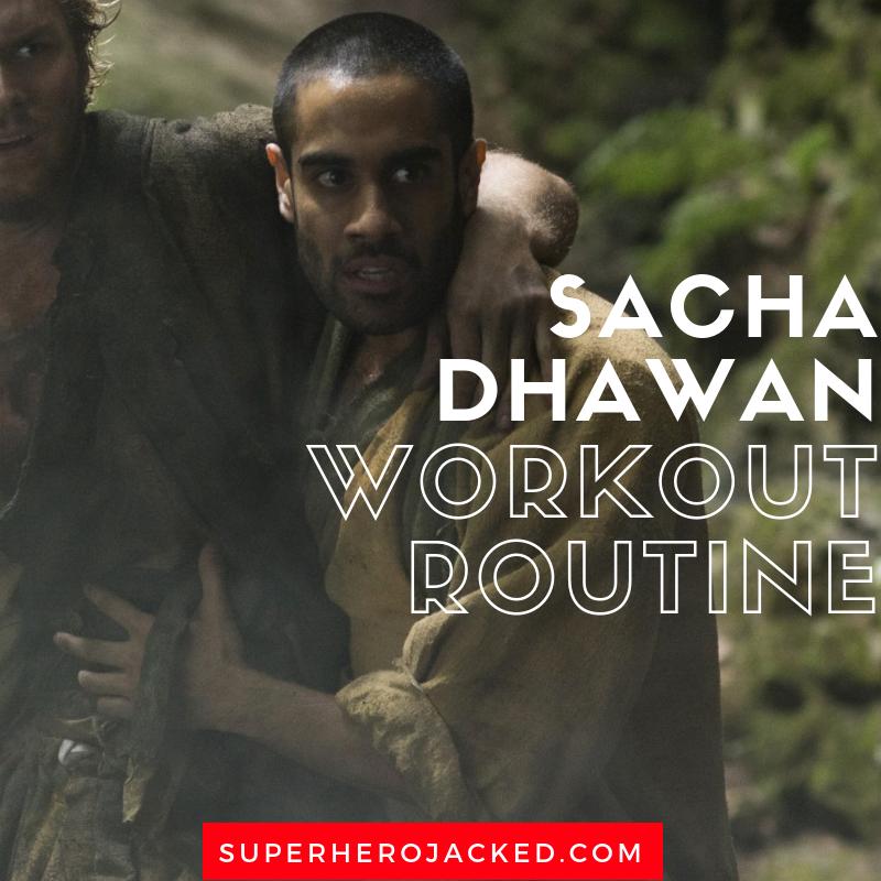 Sacha Dhawan Workout Routine
