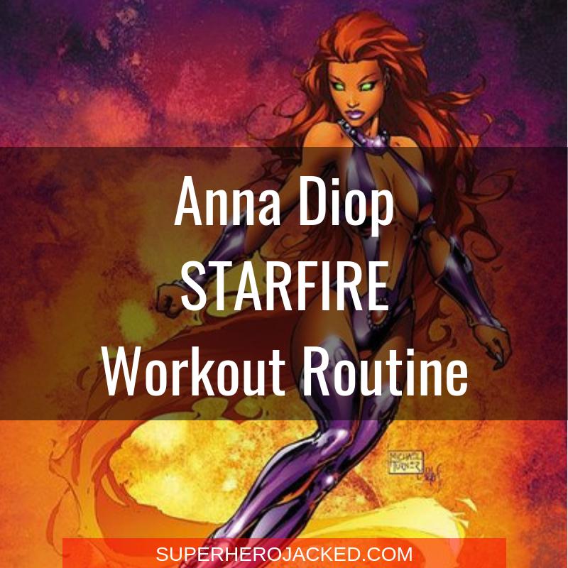 Anna Diop Starfire Workout Routine