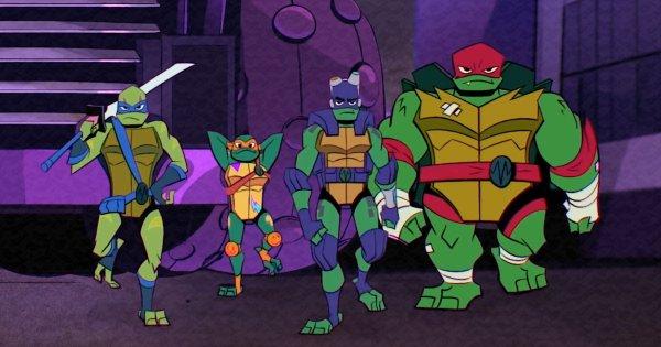 Teenage Mutant Ninja Turtles Workout