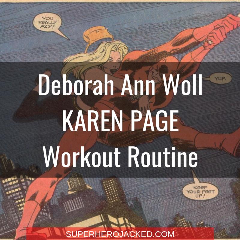 Deborah Ann Woll Karen Page Workout Routine