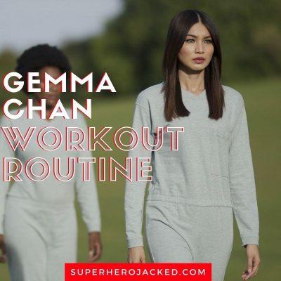 Gemma Chan Workout