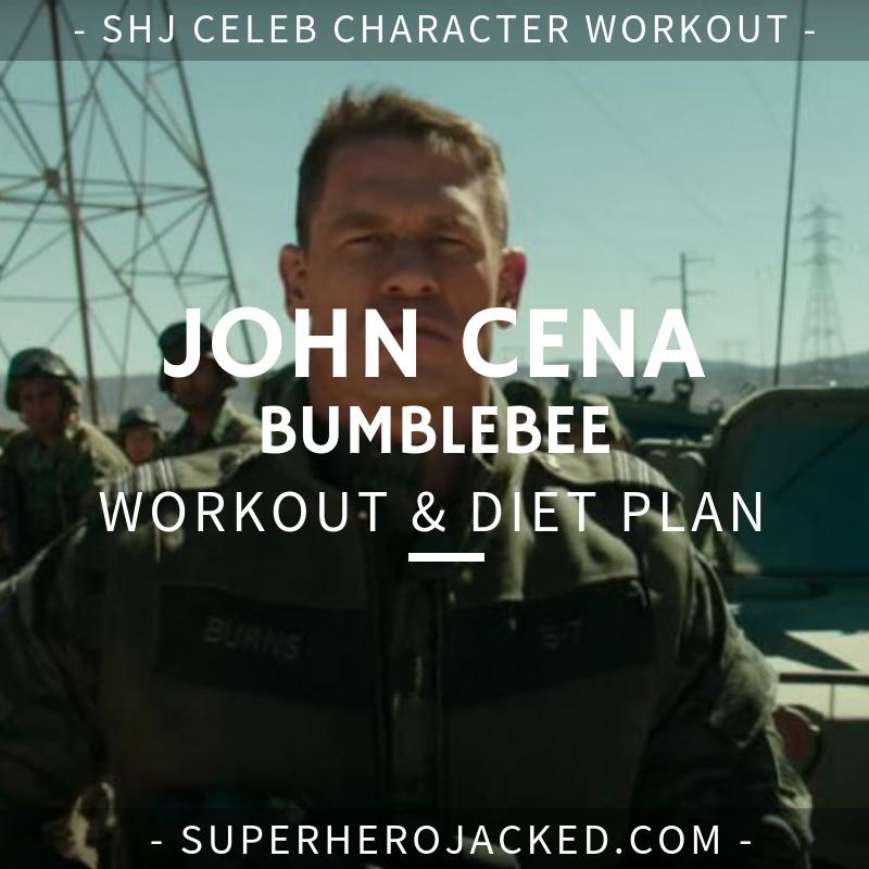 John Cena Bumblebee Workout and Diet