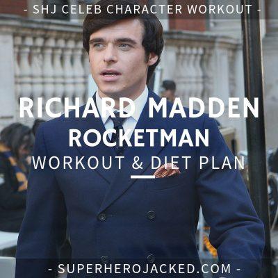 Richard Madden Rocketman Workout and Diet