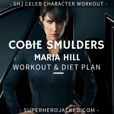 Cobie Smulders Maria Hill Workout and Diet