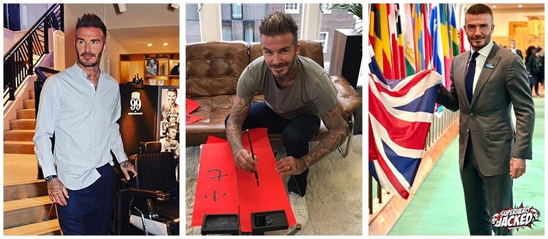 David Beckham Workout 1