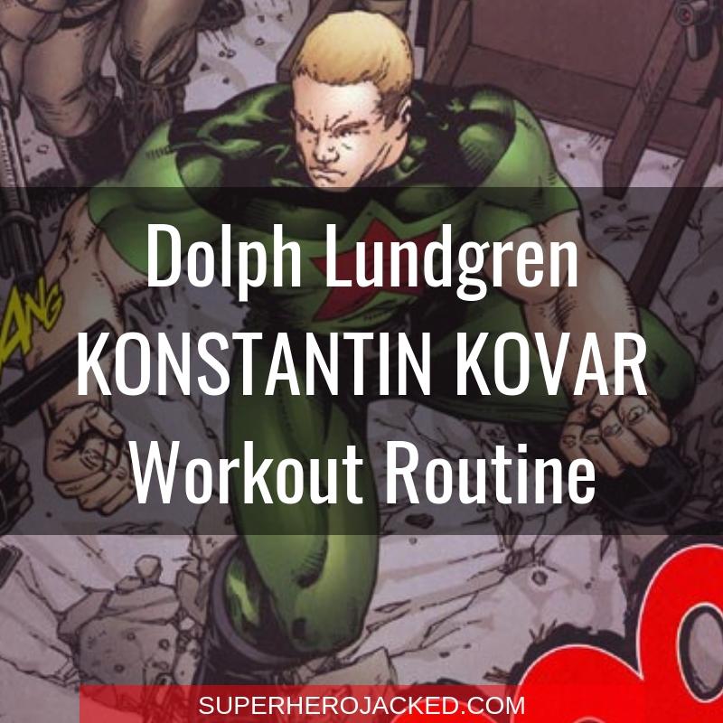 Dolph Lundgren Konstantin Kovar Workout Routine