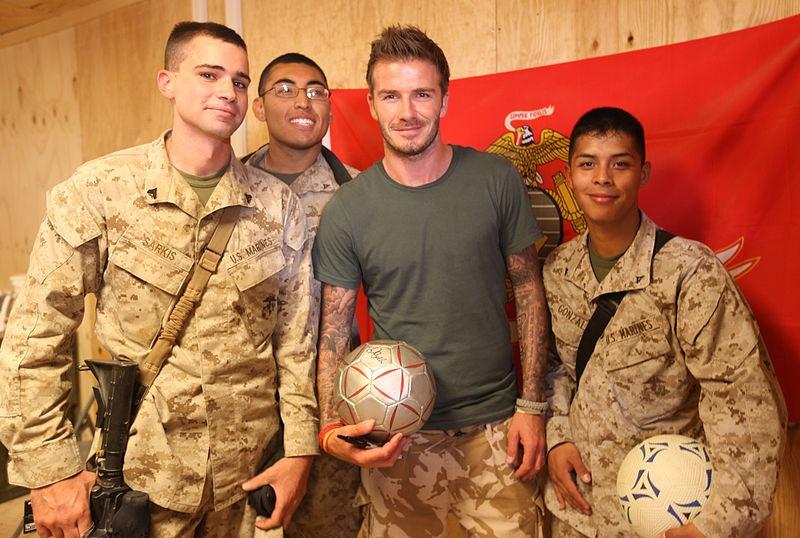 David Beckham Workout 3