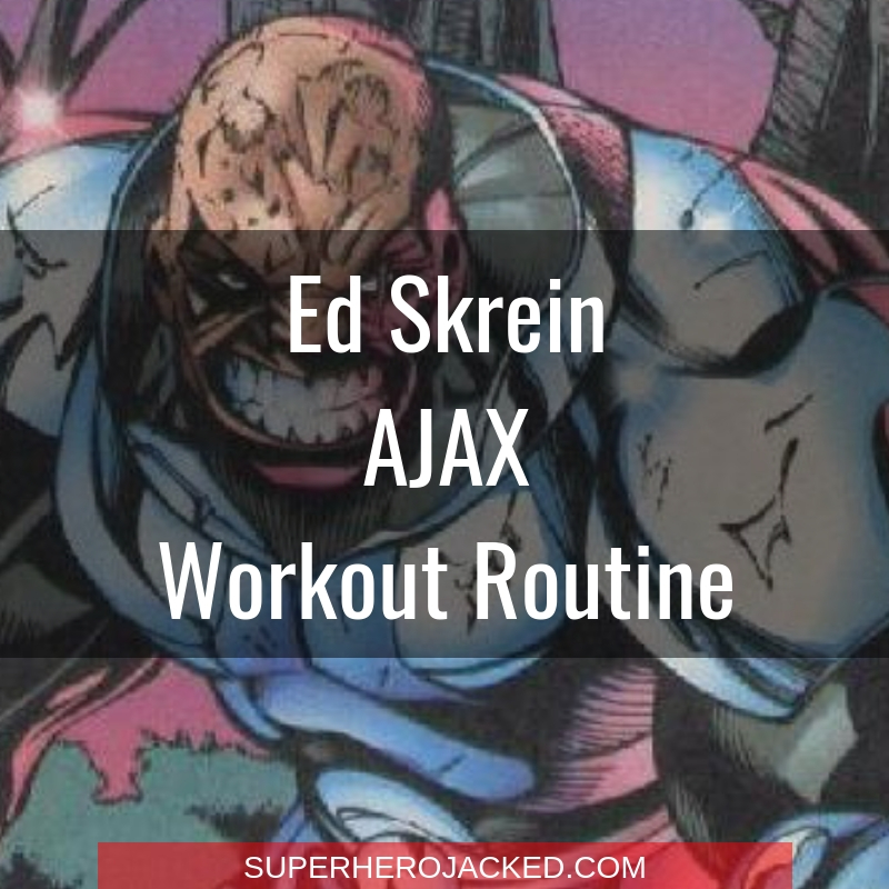 Ed Skrein Ajax Workout