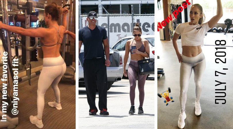 Jennifer Lopez Workout Routine (2)