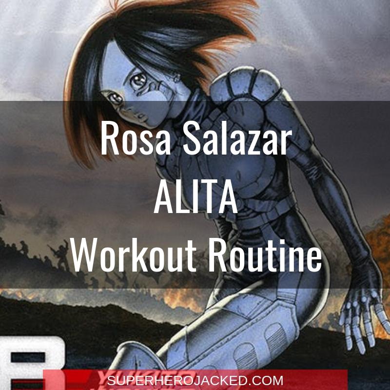 Rosa Salazar Alita Workout