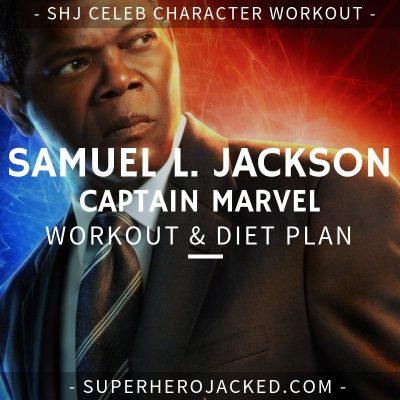 Samuel L. Jackson Captain Marvel Workout and Diet