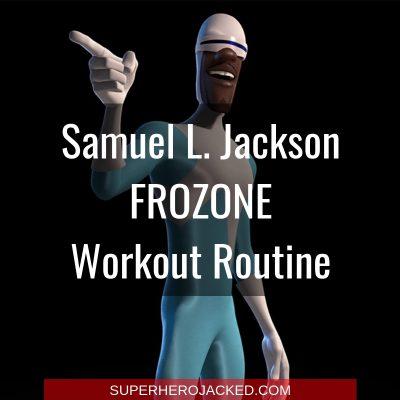 Samuel L. Jackson Frozone Workout