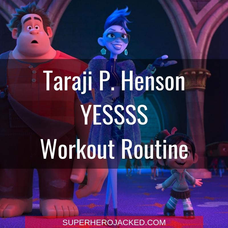 Taraji P. Henson YESSS Workout