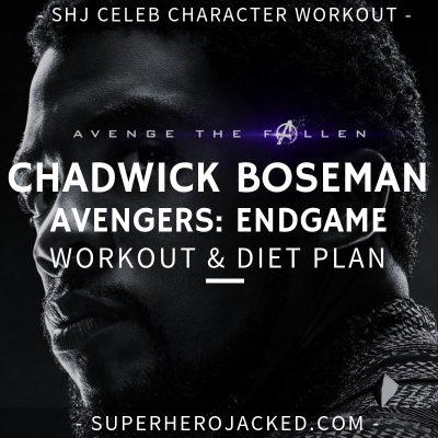 Chadwick Boseman Avengers_ Endgame Workout and Diet