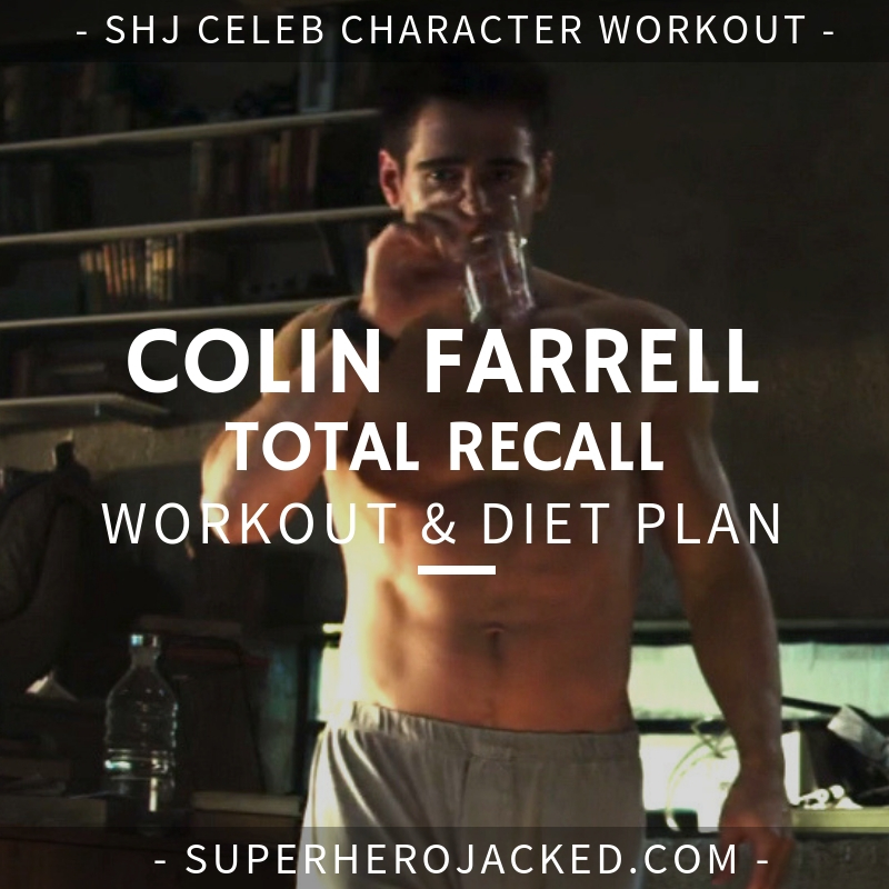 Colin Farrell Total Recall Workout