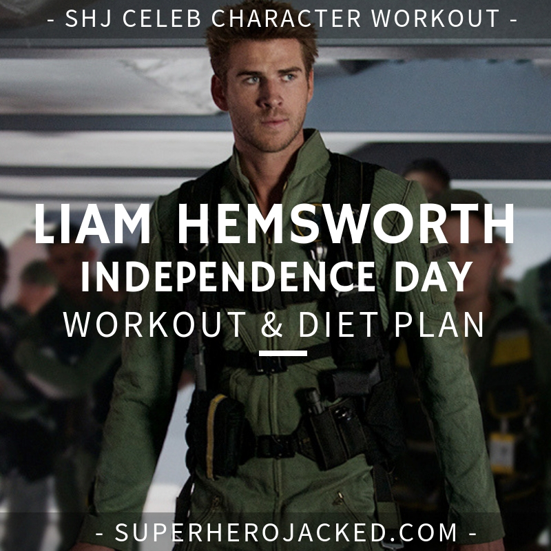 Liam Hemsworth Independence Day Workout