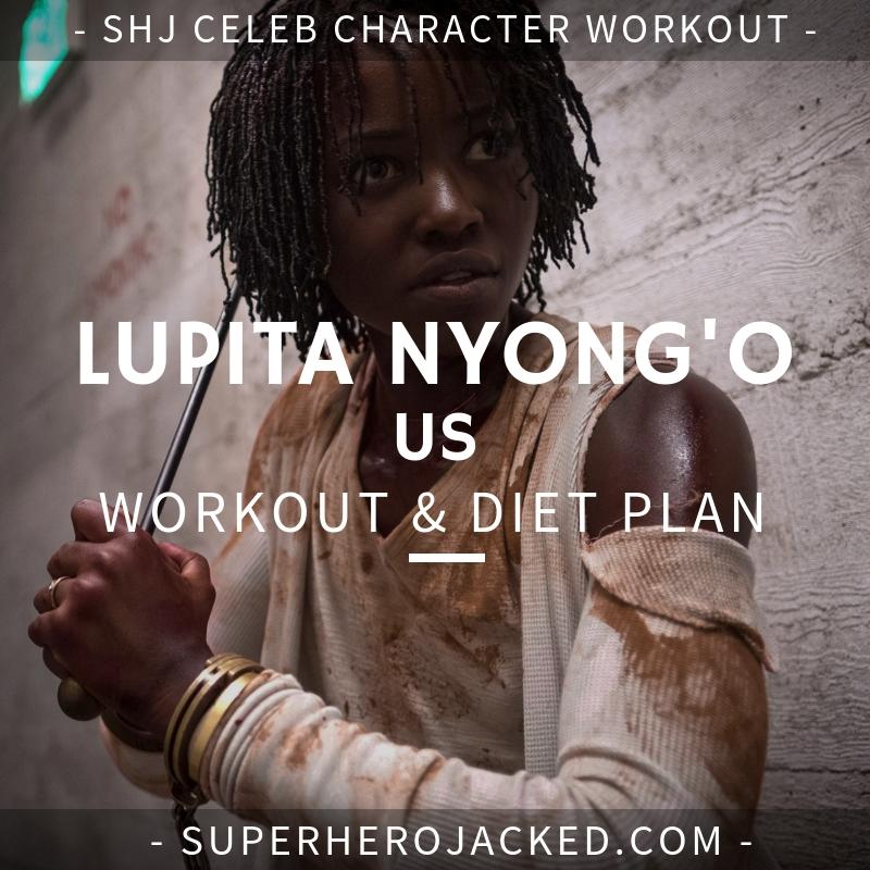 Lupita Nyong'o Us Workout