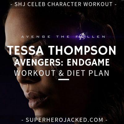 Tessa Thompson Avengers_ Endgame Workout and Diet