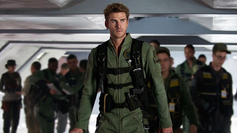 Liam Hemsworth Workout 1