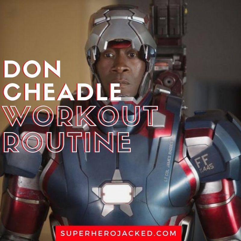 Don Cheadle Workout