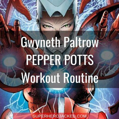 Gwyneth Paltrow Pepper Potts Workout