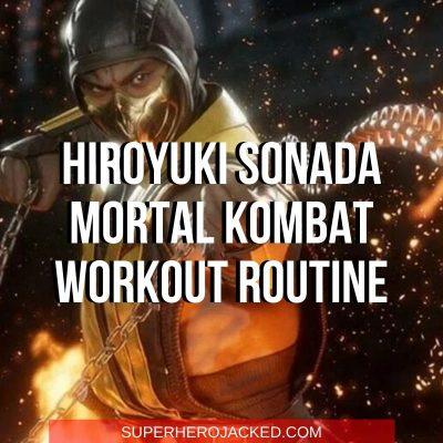 Hiroyki Sonada Mortal Kombat Workout
