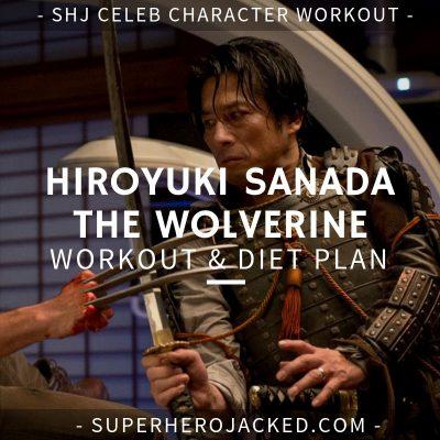 Hiroyuki Sanada The Wolverine Workout and Diet