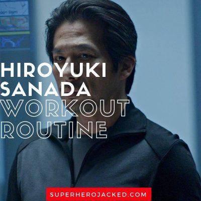 Hiroyuki Sanada Workout Routine