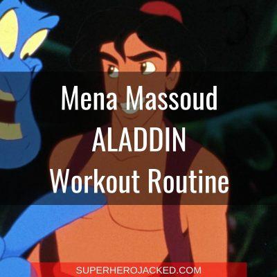Mena Massoud Aladdin Workout