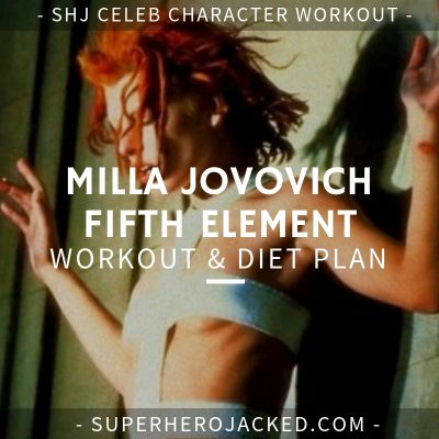 Milla Jovovich Fifth Element Workout and Diet