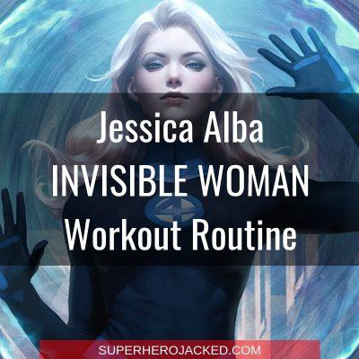 Jessica Alba Invisible Woman Workout