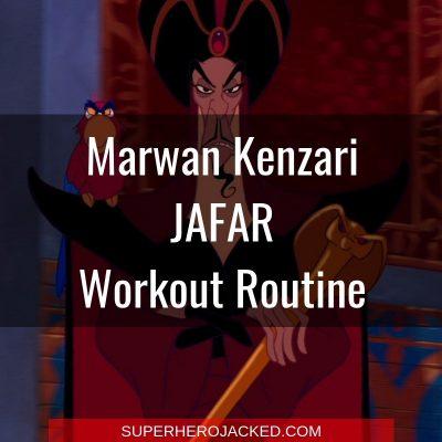 Marwan Kenzari Jafar Workout