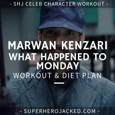 Marwan Kenzari What Happened to Monday Workout and Diet