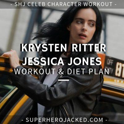 Krysten Ritter Jessica Jones Workout and Diet