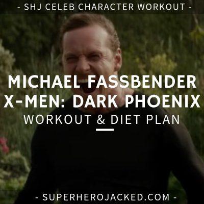 Michael Fassbender X-Men Dark Phoenix Workout and Diet