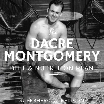 Dacre Montgomery Diet and Nutrition