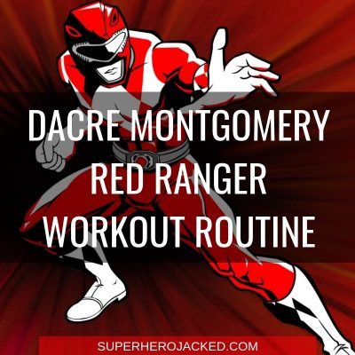 Dacre Montgomery Red Ranger Workout