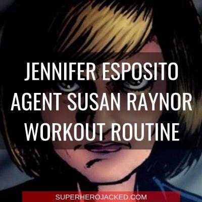Jennifer Esposito Agent Susan Raynor Workout