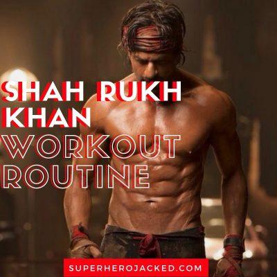 Shah Rukh Khan Workout Routine