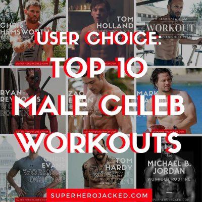 Top 10 Male Celeb Workouts