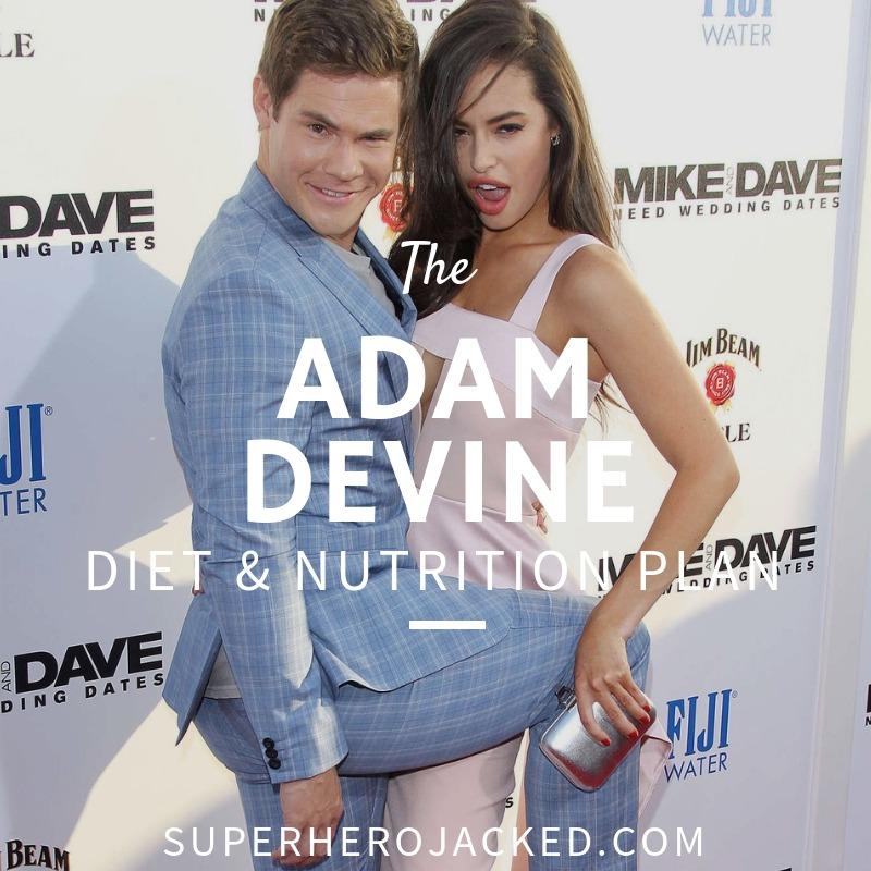 Adam Devine Diet and Nutrition