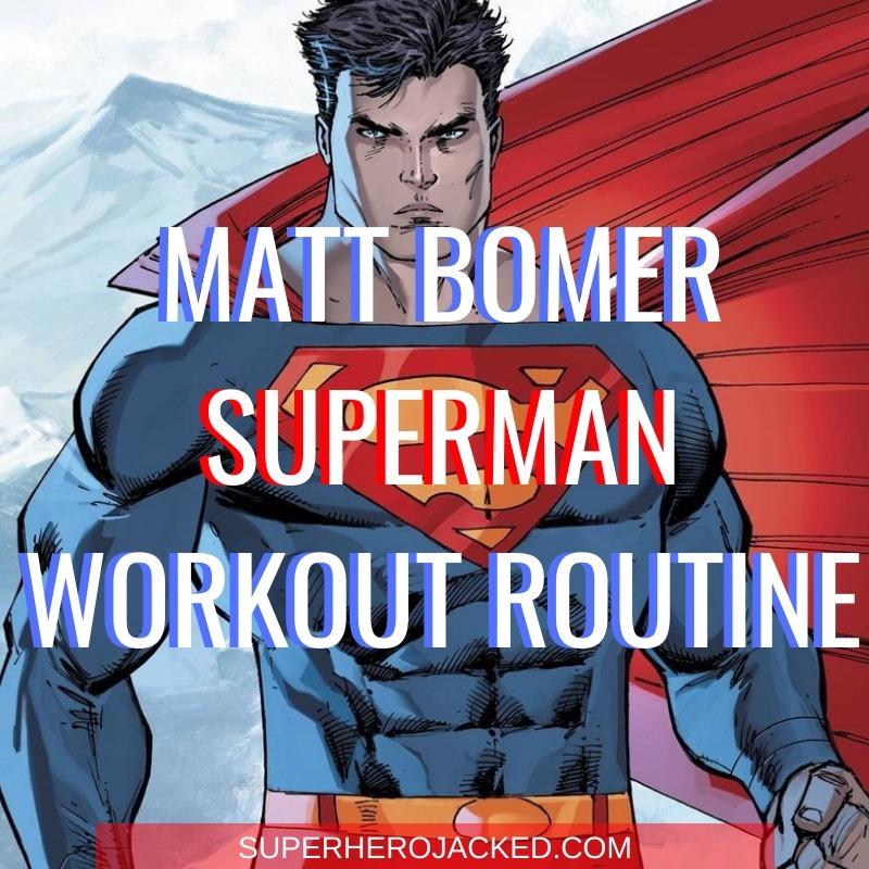 Matt Bomer Superman Workout